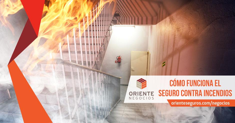 Cómo funciona el seguro contra incendio.